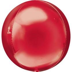 Balon folie orbz Rosu - 38 x 40 cm, Amscan 28203