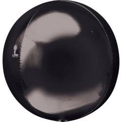 Balon folie orbz Negru - 38 x 40 cm, Amscan 28343