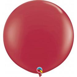 Jumbo latex balloon 3 ft Maroon, Qualatex 57134, 2 pcs