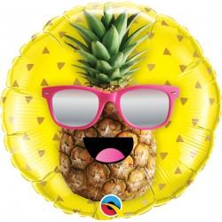 Balon Folie 45 cm Ananas Cool - Qualatex 57271