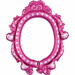 Disney Princess Inflatable Photo Frame Selfie Prop Girls Kids Birthday Party, Amscan 38181