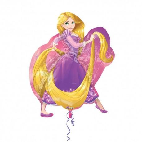 Balon folie figurina Rapunzel - 66 x 78 cm, Amscan 33215
