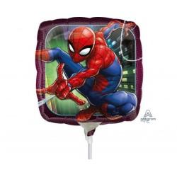 "Balon mini folie Spiderman, 23 cm/9"", Amscan 34668"