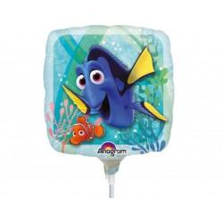 "Balon mini folie Finding Dory, 23 cm/9"", Amscan 32311"