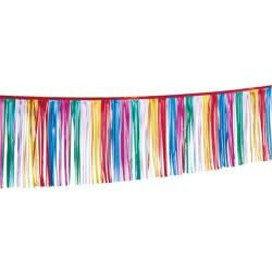 Ghirlanda decorativa din folie multicolora pentru petrecere - 30 x 400 cm, Amscan 1951