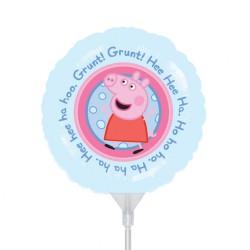 "Balon mini folie Peppa Pig, 23cm/9"", Amscan 23113"