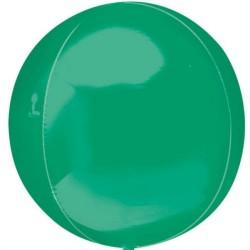 Orbz Green Foil Balloon - 38 x 40 cm, Amscan 31942
