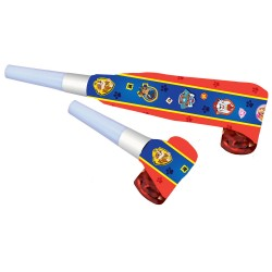 Party Blowouts Paw Patrol 2018, Amscan 9903832, set of 8 pieces