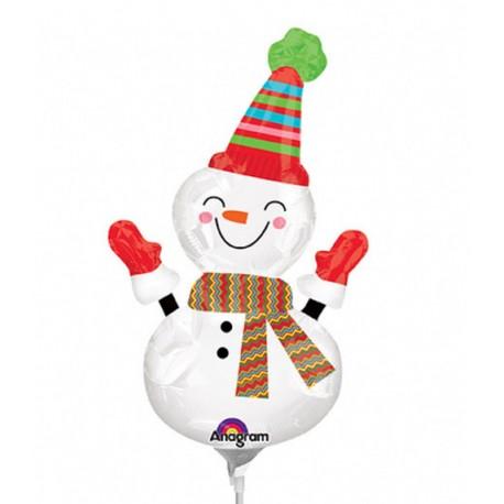 "Balon Folie Mini-Figurina Om de Zapada - 9""/23cm, Anagram 2727302"