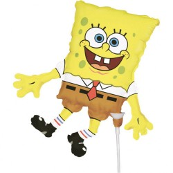 Balon mini figurina SpongeBob, Amscan 93989