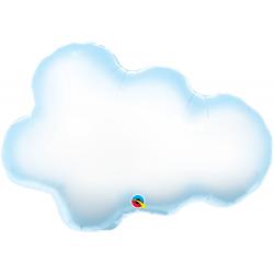 """30"""" Puffy Cloud Shape Foil Balloon, Qualatex 78553"""