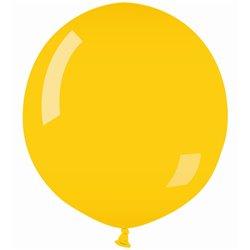 Yellow 02 Jumbo Latex Balloon, 39 inch (100 cm), Gemar G40.02, pack of 10 pcs