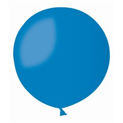 Blue 10 Jumbo Latex Balloon, 39 inch (100 cm), Gemar G40.10, pack of 10 pcs