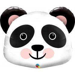 """31"""" Precious Panda Shaped Foil Balloon, Qualatex 87946"""