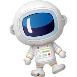 "37"" Adorable Astronaut Shaped Foil Balloon, Qualatex 87966"