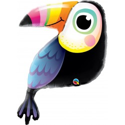 Balon Folie Figurina Tucan - 104 cm, Qualatex 78563