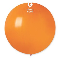 Baloane Latex Jumbo 48 cm, Orange, Gemar G150.04