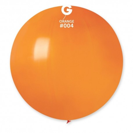 Baloane Latex Jumbo 48 cm, Orange, Gemar G150.04