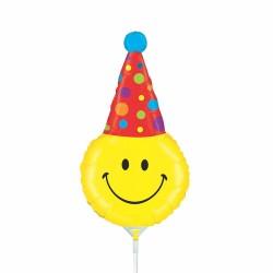 Balon mini figurina, Party Smiley - 36 cm, Radar 19256