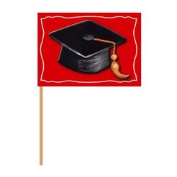 Graduation party picks, 10 cm, Radar 50224, pack on 50 pcs