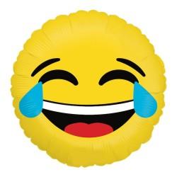 "Emoji LOL Round Foil Balloon - 18""/45 cm, Radar 36263P"