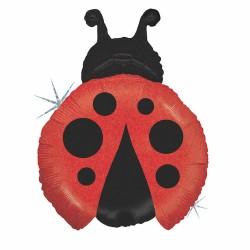 Ladybug Shaped Foil Balloon - 68 cm, Radar 85667H