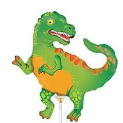 "Dinosaur Mini Shape Foil Balloon - 14""/36 cm, Radar 19344"