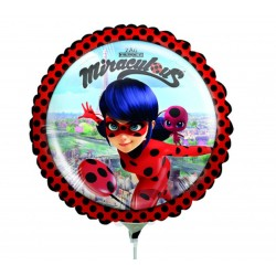 Miraculous Mini Foil Balloon, 23 cm, 37793