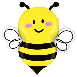 Bee Shaped Foil Balloon - 86 cm, Radar 35688