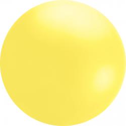 4ft Yellow Chloroprene Latex Balloon, Qualatex 91213, 1 piece
