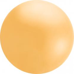 4ft Orange Chloroprene Latex Balloon, Qualatex 91214, 1 piece