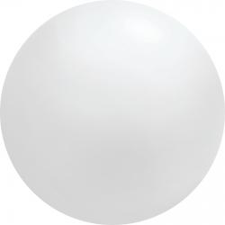 8ft White Chloroprene Latex Balloon, Qualatex 91231, 1 piece