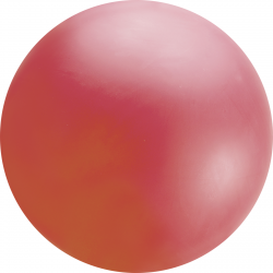 8ft Red Chloroprene Latex Balloon, Qualatex 91228, 1 piece