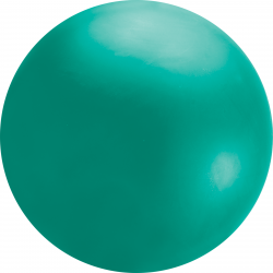 Balon latex 8ft chloroprene verde, Qualatex 91227, 1 buc