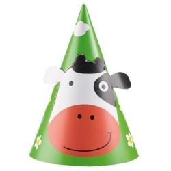 Coif petrecere copii, Fun Farm, 9900382, Set 8 coifuri