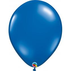 Balon Latex Sapphire Blue, 16 inch (41 cm), Qualatex 43900, set 50 buc