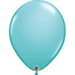 Caribbean Blue Latex Balloon, 16 inch (41 cm), Qualatex 50323, Pack of 50 pieces