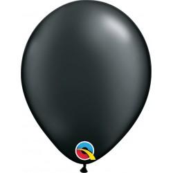 Pearl Onyx Black Latex Balloon, 11 inch (28 cm), Qualatex 43770