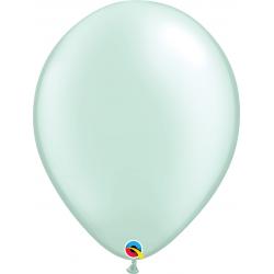 Balon Latex Pearl Mint Green, 16 inch (41 cm), Qualatex 43891, set 50 buc