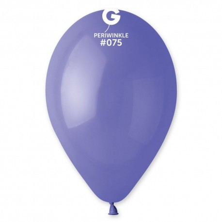 Baloane latex 30 cm, Periwinkle 75, Gemar G110.75