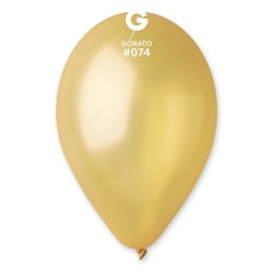 Dorato 74 Metallic Latex Balloons, 12 inch (30 cm), Gemar GM110.74, Pack Of 100 pieces