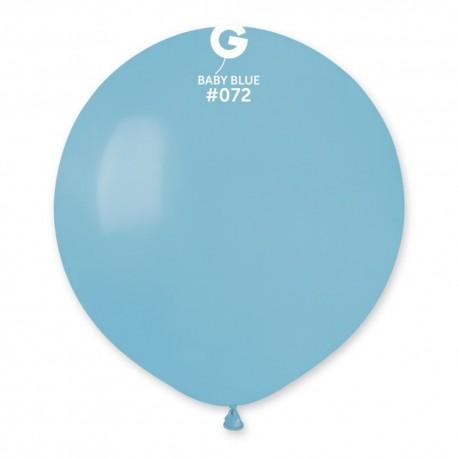 Balon Latex Jumbo 48 cm, Baby Blue 72, Gemar G150.72