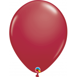 """Maroon Latex Balloons - 16""""/41 cm, Qualatex 57133, Pack of 50 pieces"""