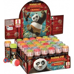 Kung Fu Panda 175 ml Soap Bubbles Party Toy, Dulcop 654000, 1 piece