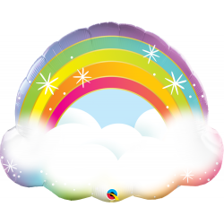 Rainbow Shape Balloon 32'', Qualatex 97538