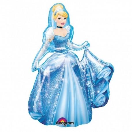 Folie Figurina Airwalker Cinderella Disney, 121 cm, 23474