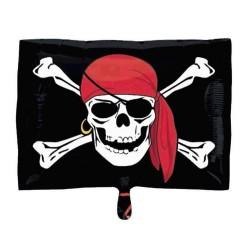 Balon Folie Jolly Roger Pirat, 45 cm, 29789ST