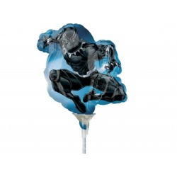 "Black Panther Mini Shape Foil Balloon - 14""/36 cm, Radar 37542"