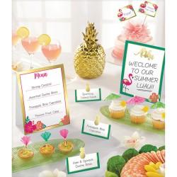 Kit decoratiuni masa petreceri - Aloha, Radar 410087, 12 buc/set