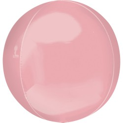 Balon folie orbz Pastel Pink - 38 x 40 cm, Radar 39112